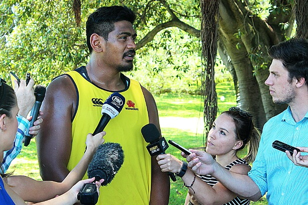 Will Skelton - a tall order for interviewers