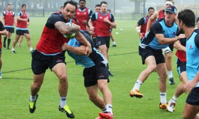 Zac  Guildford - one of exciting back three