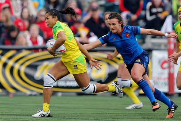 Tiana Penitani - on the move against France