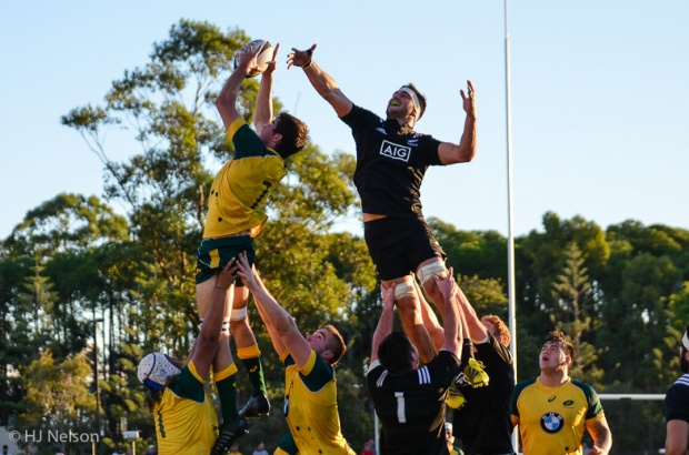 Liam Wright steals a line-out