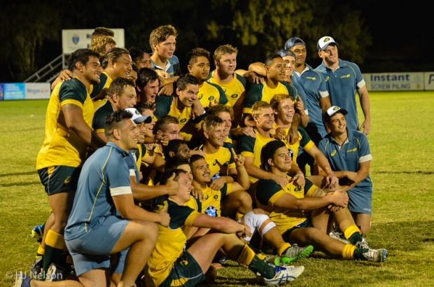Australia U20s all smiles after their first ever win against New Zealand