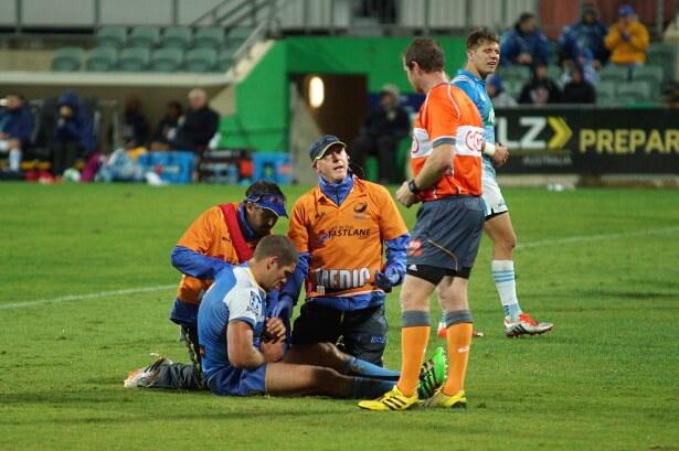 Matt Hodgson injured