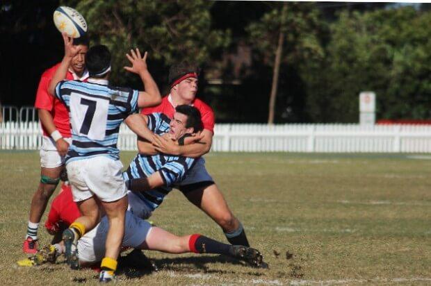 Choke tackle