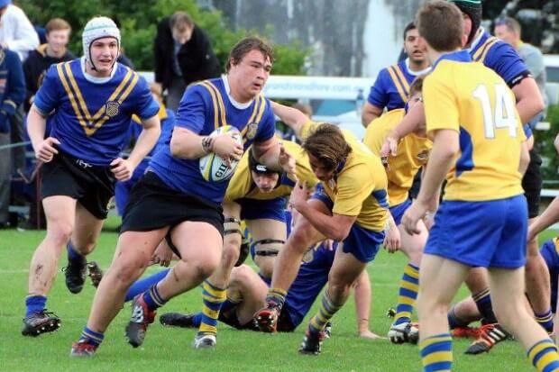 Waverley's Finn Wright on the burst