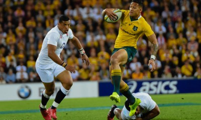 Eddie Jones called Israel Folau a 'special' player. Also a 'giraffe' but I'm sure he meant it in a nice way