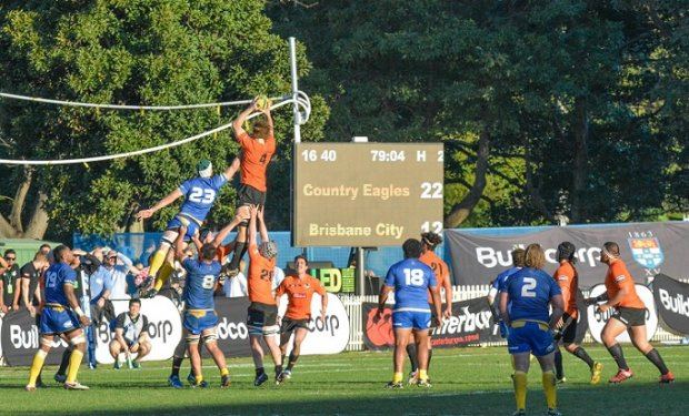 Ned Hannigan claims lineout NSW Country v Brisbane City NRC 2016