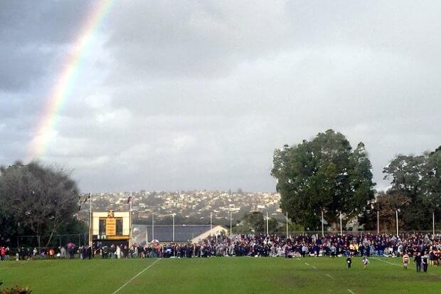 Rainbow at Scots