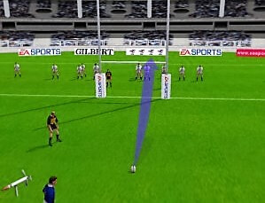 Rugby  2001 place kick