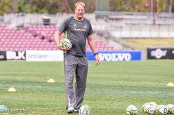 Wallaby Skills Coach Mick Byrne