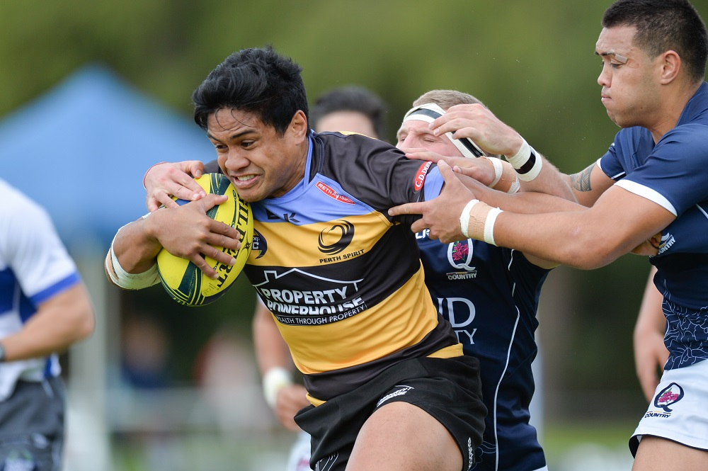 20160918_2204_Ben Tapuai of PS during round 4 of NRC 2016 match on Sep 18 2016 in Perth Australia. Photo- Johan Schmidt Photography