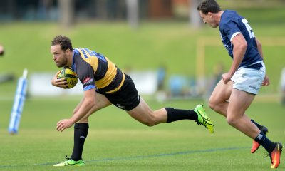 20160918_2322_Luke Morahan of PS scores a try during round 4 of NRC 2016 match on Sep 18 2016 in Perth Australia. Photo- Johan Schmidt Photography