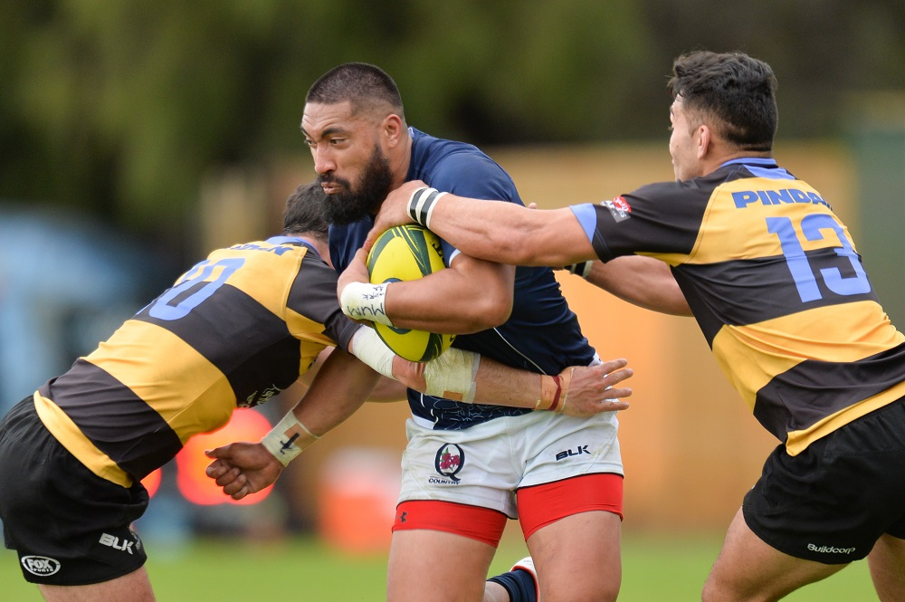 20160918_3040_Tyrone Lefau of QC during round 4 of NRC 2016 match on Sep 18 2016 in Perth Australia. Photo- Johan Schmidt Photography
