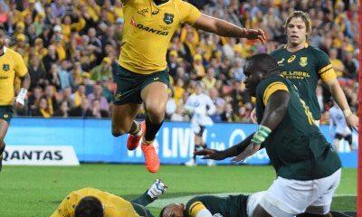 Quade Cooper and Bernard Foley scores vs South Africa 2016