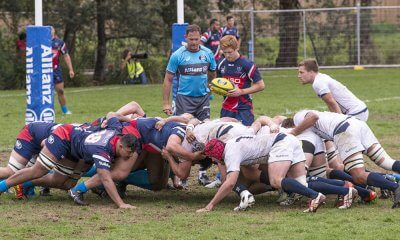 Melbourne Rising V Queensland Country scrum