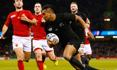 Julian Savea in action in 2015 Rugby World Cup v France