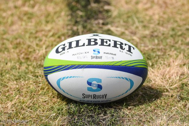 Stock photo of Super Rugby ball