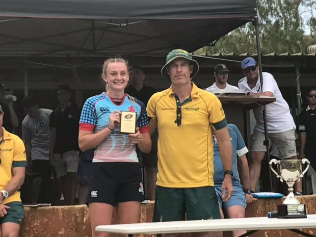 Brydie Parker - Girls' Player of the Tournament