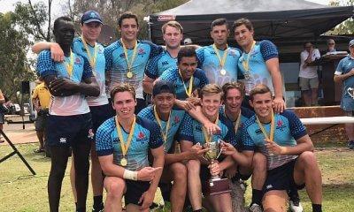 NSW Blue Sevens team - Boys' winners
