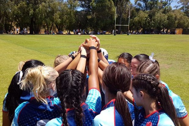 NSW girls get motivated