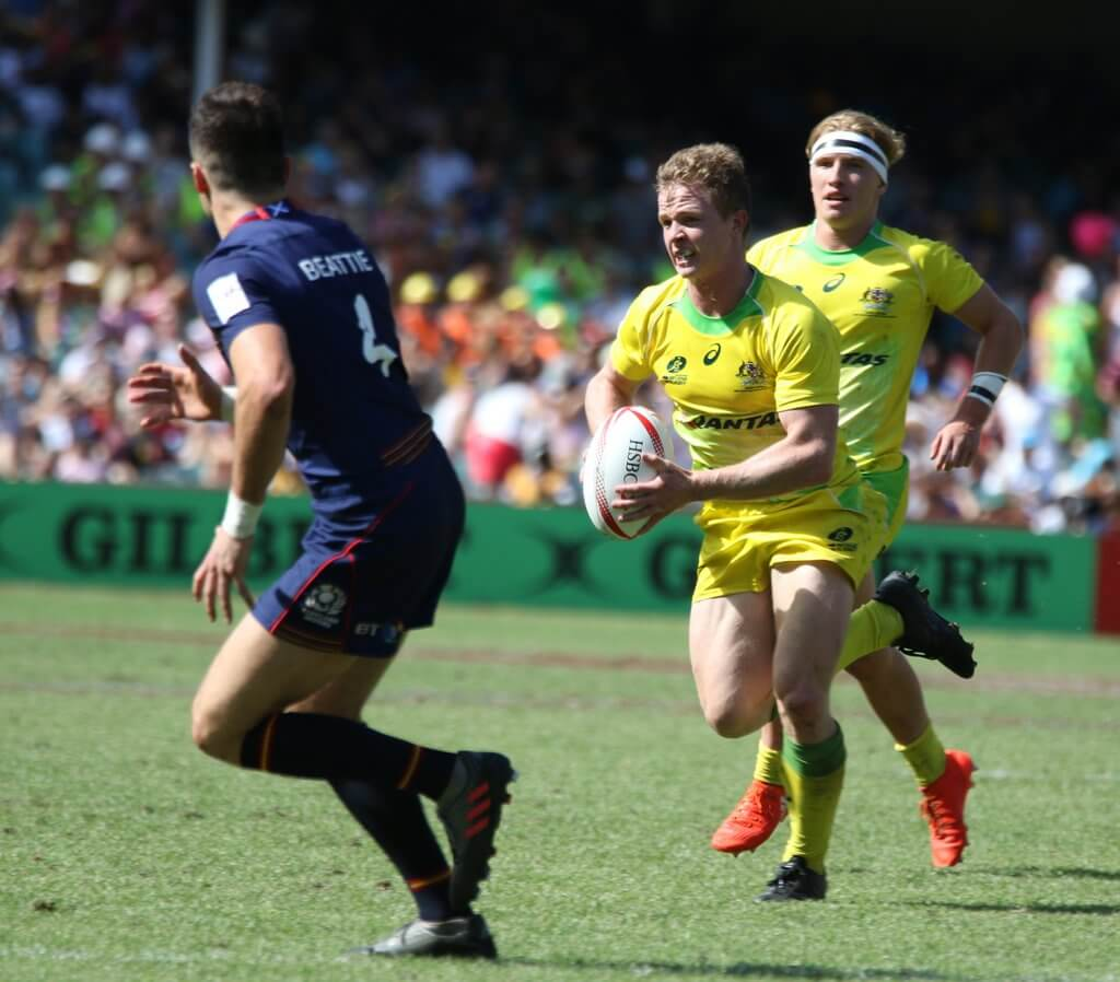 Sydney Sevens 2017 Hutchison runs v Scotland