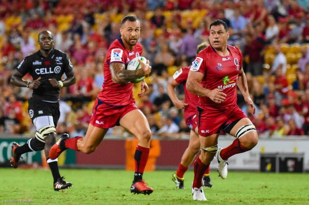 Quade Cooper and George Smith added a wealth of experience to the Reds
