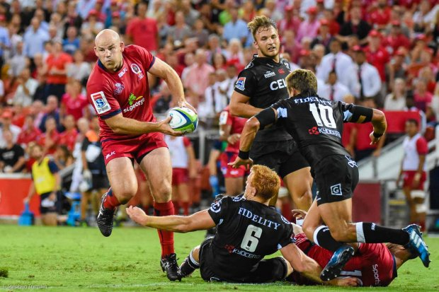 Stephen Moore made a winning return to the Reds
