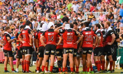 Half-time, Semi-Final 2, Crusaders v Hurricanes