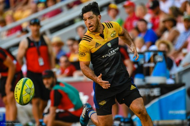 Nehe Milner-Skudder, Semi-Final 2, Crusaders v Hurricanes
