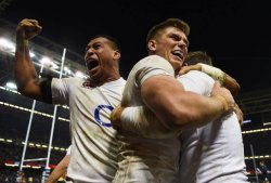 England flexed their muscle against the Irish.