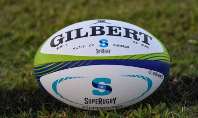 Stock photo of 2017 Super Rugby match ball