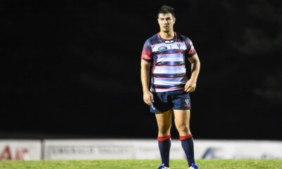 Jackson Garden-Bachop plays his first game for the Melbourne Rebels