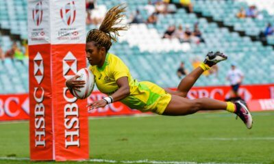 Ellia Green was a welcome return for the Aussie 7's in Sydney