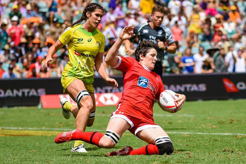Australia Women v Canada Women