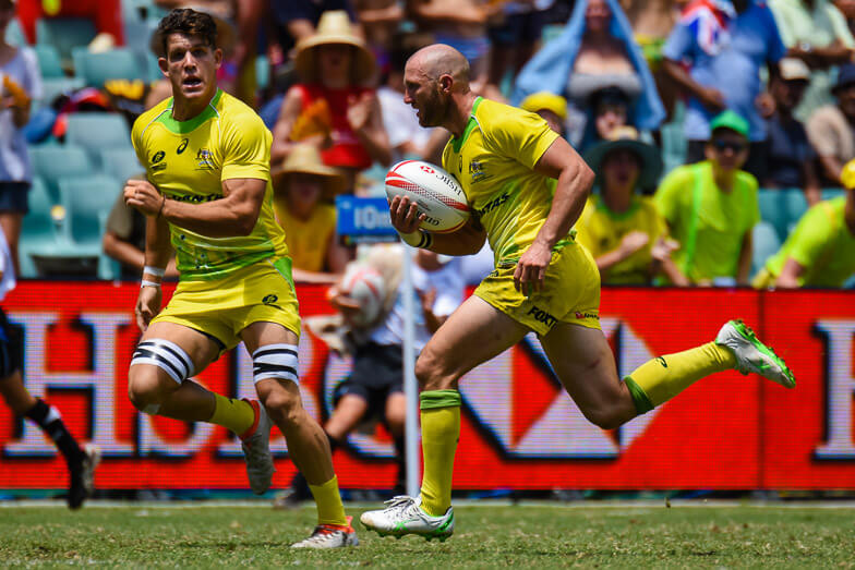 Chuck Stannard guided Australia to a big win over Wales in the QF, Australia v Wales