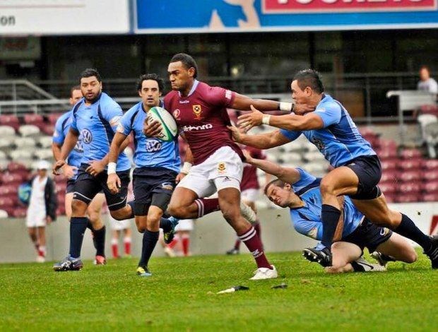 Tevita Kuridrani, playing for UQ