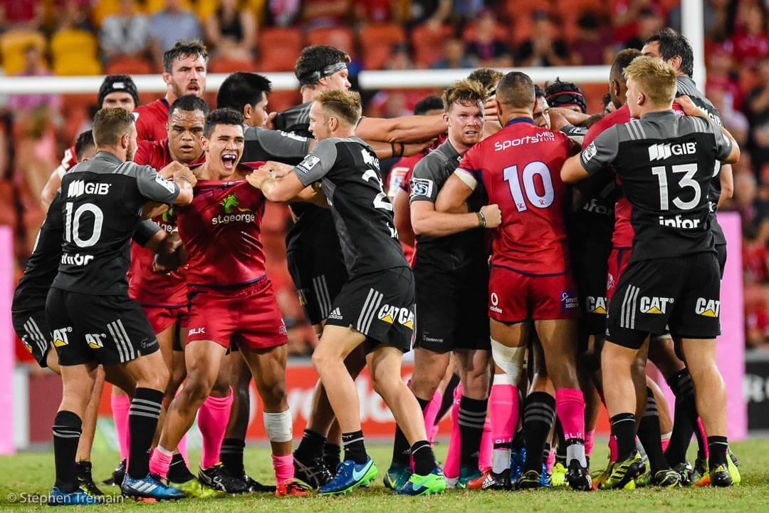 Izaia Perese is officially welcomed to Super Rugby