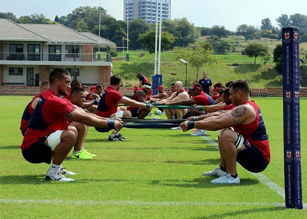170314 Reds training Johannesburg