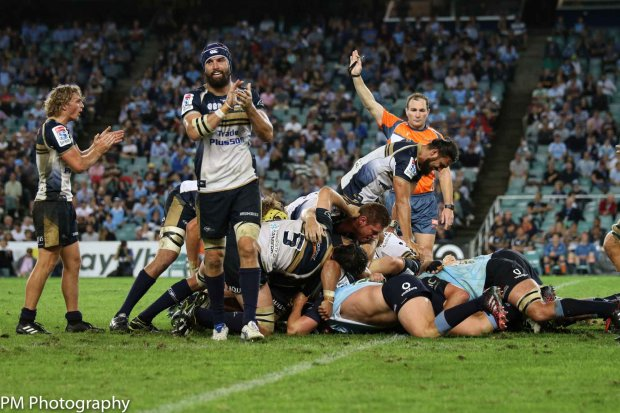 Another scrum penalty for the Brumbies.