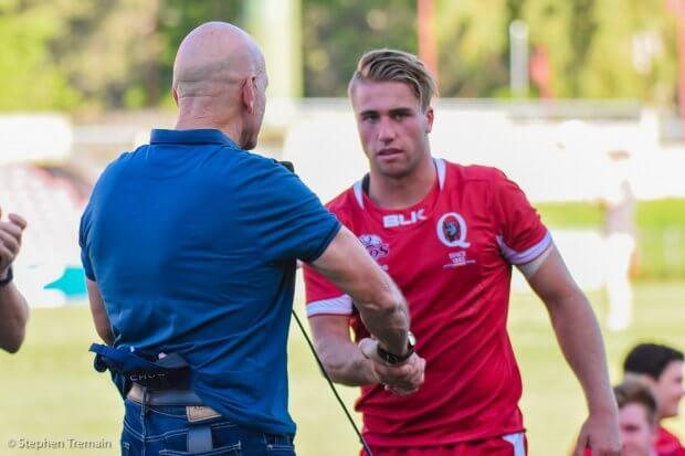 Reds U20 v NSW Gen Blue U20, Wests Rugby Club, 18th March 2017
