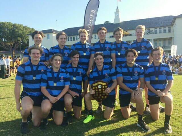 Canberra Grammar - Winners of Midford Plate at 2017 Scots College 7s