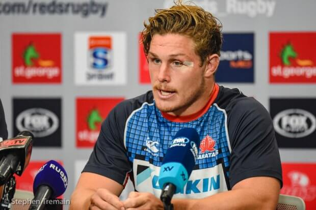 Michael Hooper at Press conference