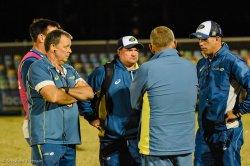 Australia coaches were not a happy bunch