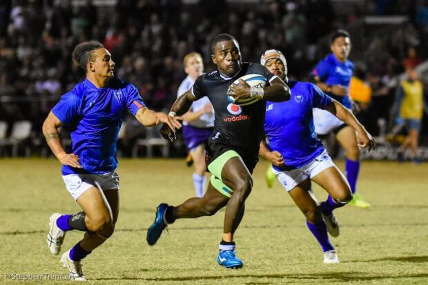 Fiji started strongly, but Samoa took charge in the second half