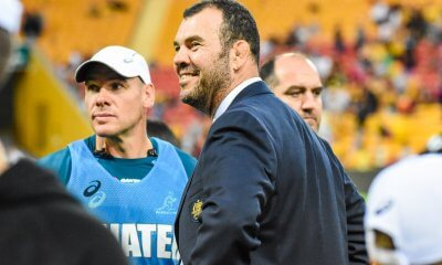 Michael Cheika, Nathan Grey and Mario Ledesma