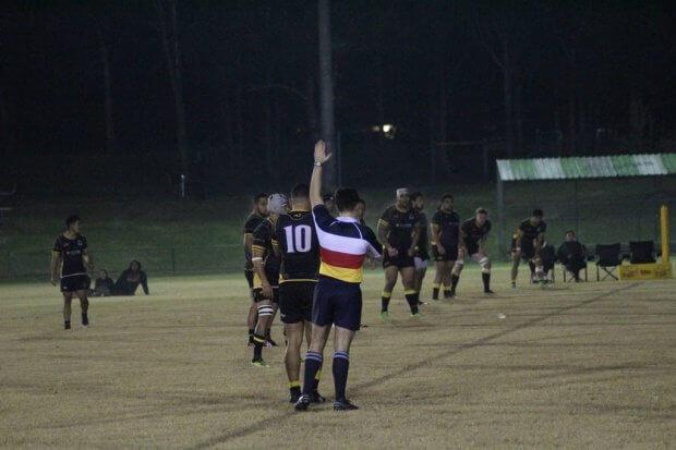 The Penrith Emus kick off (Image Credit - Penrith Emu Rugby Club)