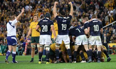 Scotland winning the penalty that won them the match.