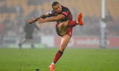 Quade Cooper had a 'mixed bag' according to coach Nick Stiles. He kicked the goals when it counted though