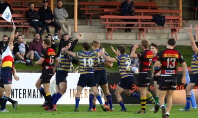 Sydney Uni score against Norths (Image Credit - AJF Photography)