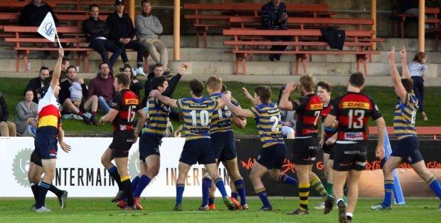 Sydney Uni score against Norths (Image Credit - AJF Photography)
