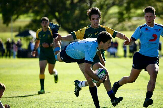 NSW I showed super skills in win over Combined States  Photo Credit: ARU Media/Karen Watson